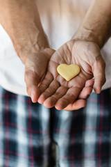 biscuit  heart in hands
