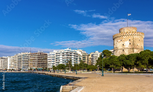White Tower of Thessaloniki in Greece - 76682390