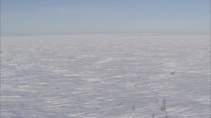 Frozen Tundra Helicopter