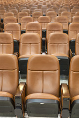 seats in convention hall or theather