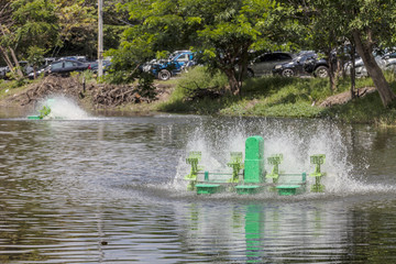 Automatic Aerator floated on water surface, water treatment
