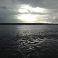 cloudy sea sky