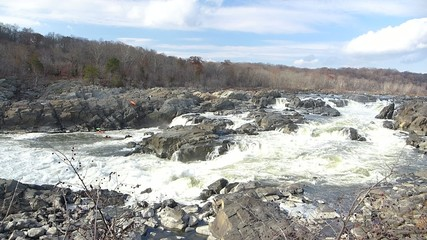 the Great Falls on Potomac River
