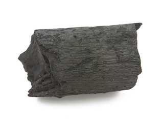 many pieces of charcoal