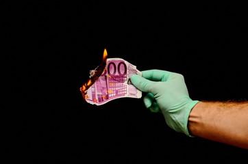 European Euro Money Banknote