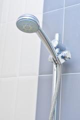 Stainless Steel Shower in bathroom