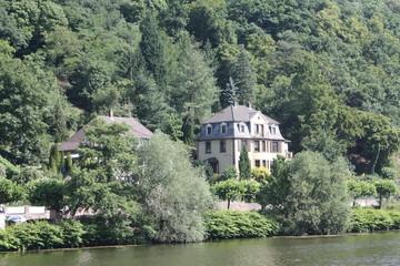 House on the Neckar River