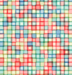 Mosaic squares light vector background