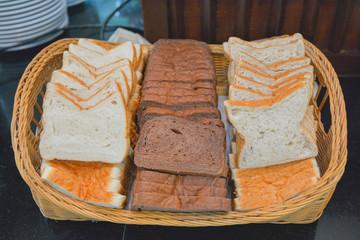 wheaten bread slices for breakfast