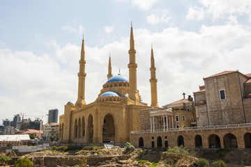 """Mohammed-al-Amin""- Moschee in Beirut"