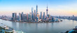 shanghai skyline panoramic view - 76706723