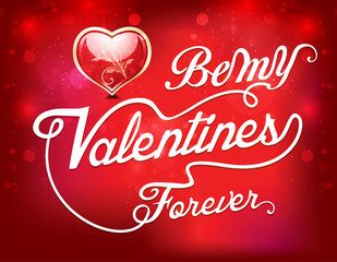 happy valentine day text background
