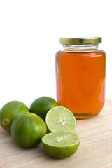 Honey lemon for sore throat