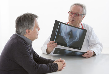 medecin et pateint - Radiographies