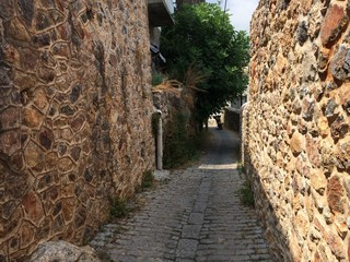 stone alley Alanya