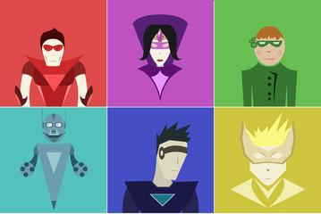 Super heros set