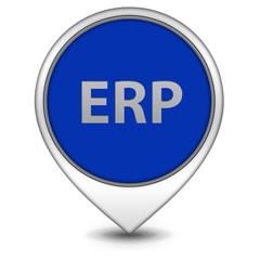 ERP pointer icon on white background
