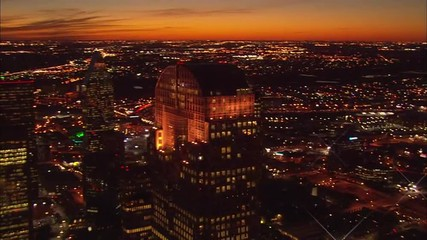 Lights Dallas Skyline