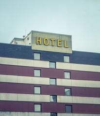 Retro Vintage Ugly Hotel