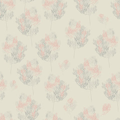 branch seamless pattern