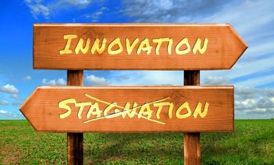 Strassenschild 33 - Innovation