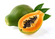 Papaya with leaves - 76713740