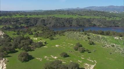 California Trees Mountains Lake