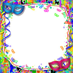 Sfondo Carnevale - Balli in maschere