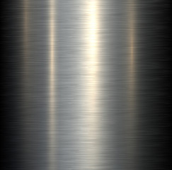 Steel metal background brushed metallic texture