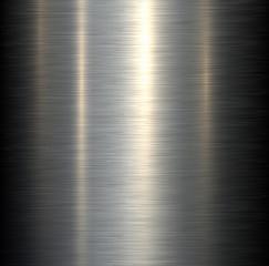 Steel metal background brushed metallic texture