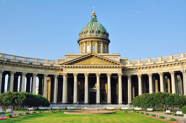 Kazan Cathedral, Saint Petersburg, Russia