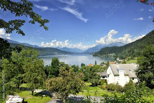 Leinwanddruck Bild Autriche lac