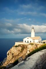 Lighthouse Capdepera in Mallorca