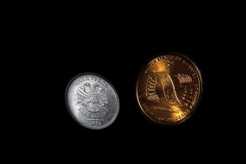 Доллар ,рубль