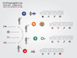 Infographic timeline. Vector illustration