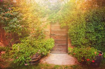 The door to the magic world, Tuscany
