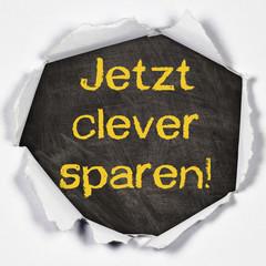 Papierloch - Jetzt clever sparen!