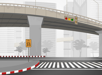 City streets,townscape vector background