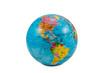 Leinwanddruck Bild - Globes with America