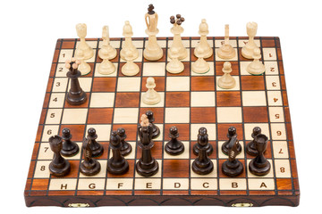 Start of a chess game