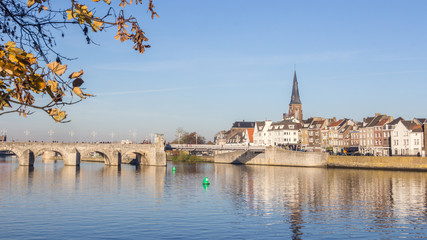 Sint Servaas bridge Maastricht Neherlands