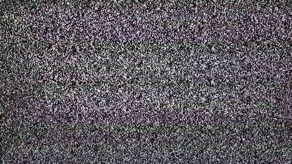 TV snow with large noise.