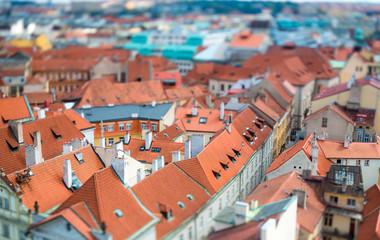 Prague - Tilt shift lens.