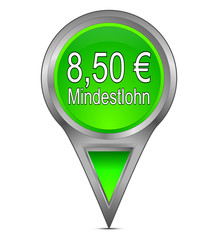 Pin Pointer mit 8,50 Euro Mindestlohn
