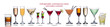 Famous international cocktails