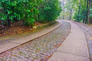 The road way to the Memorial Hall garden of Dr.Sun Yat-sen