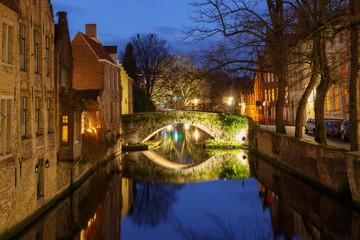 Bruges. Green channel.