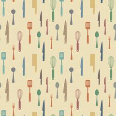 Kitchen items pattern