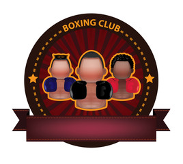 Boxing club banner