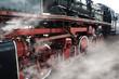 Old locomotive wheels - 76729921